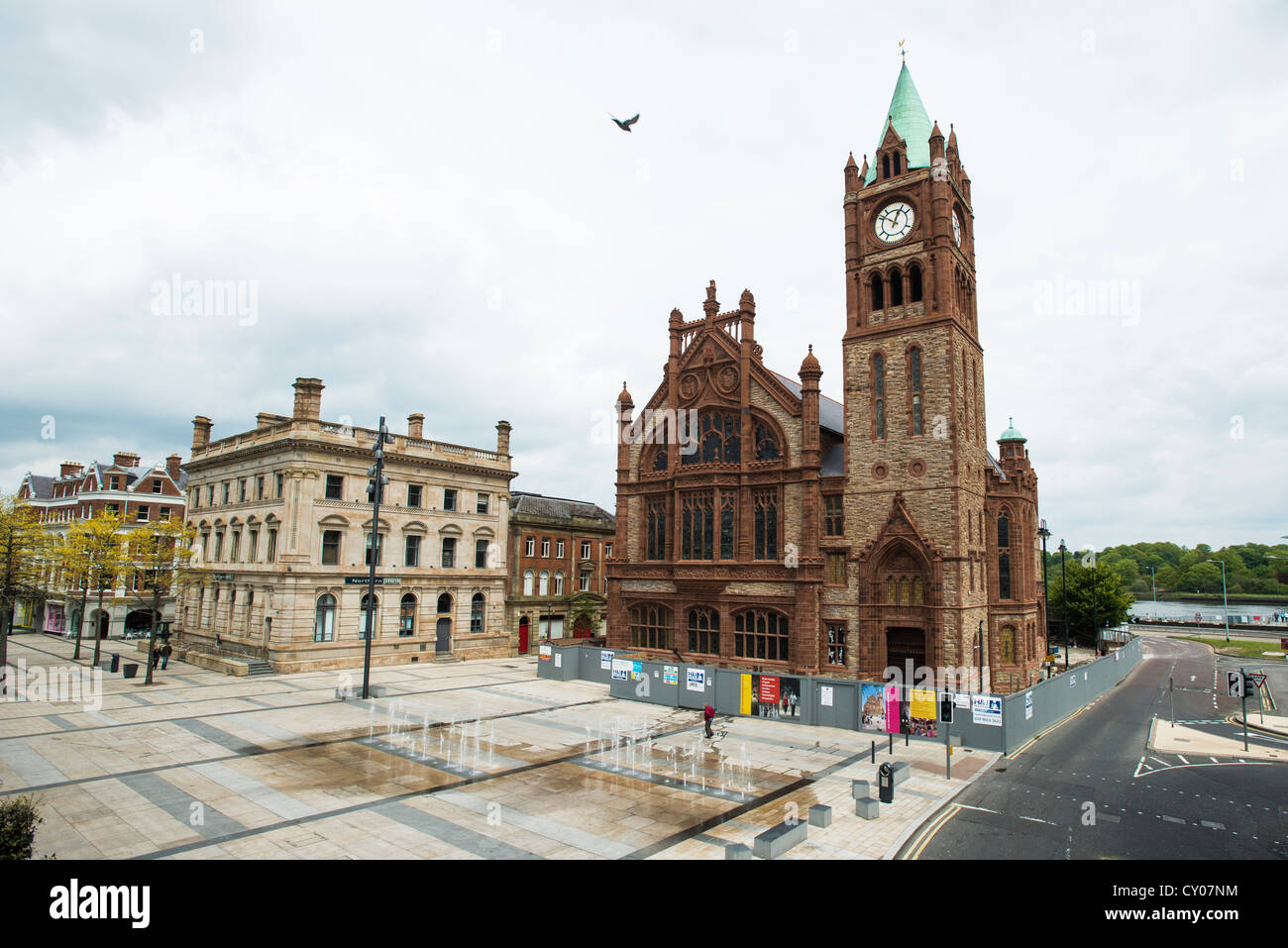 Derry / Londonderry United Kingdom  city images : Guildhall, Derry, Londonderry, Northern Ireland, United Kingdom Stock ...