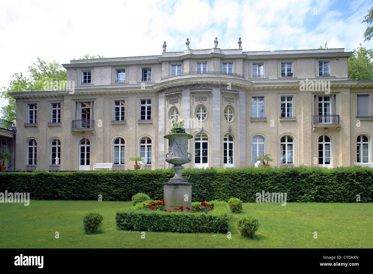 Lake view villa house of the wannsee conference berlin wannsee berlin