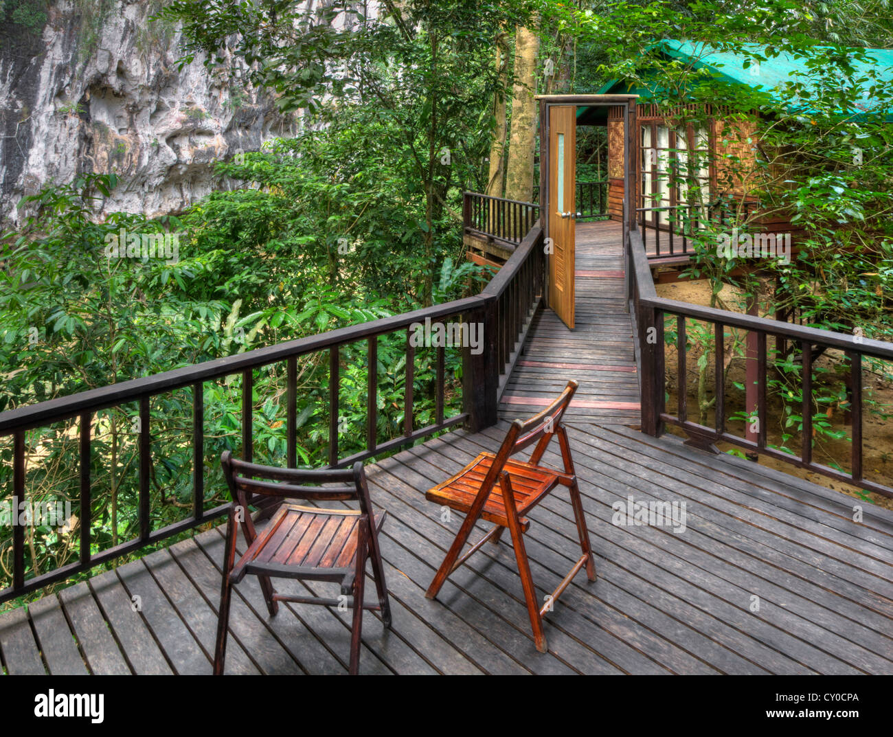 Uncategorized Houses In The Jungle a deck connecting twotree houses at our jungle house near khao sok national park surathani provence thailand