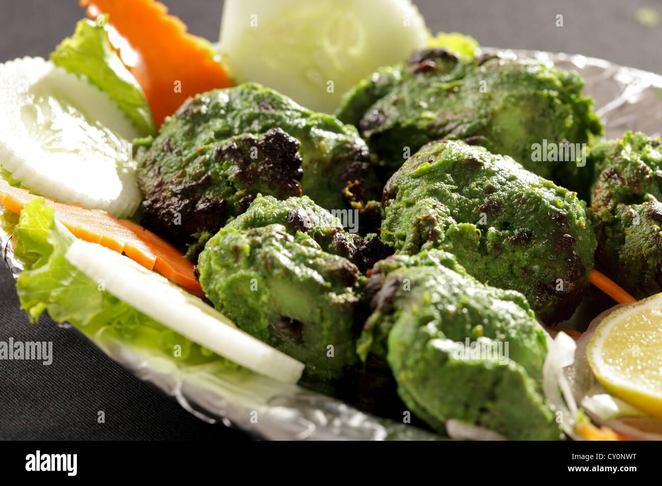 Chicken Hariyali Tikka Recipe — Dishmaps