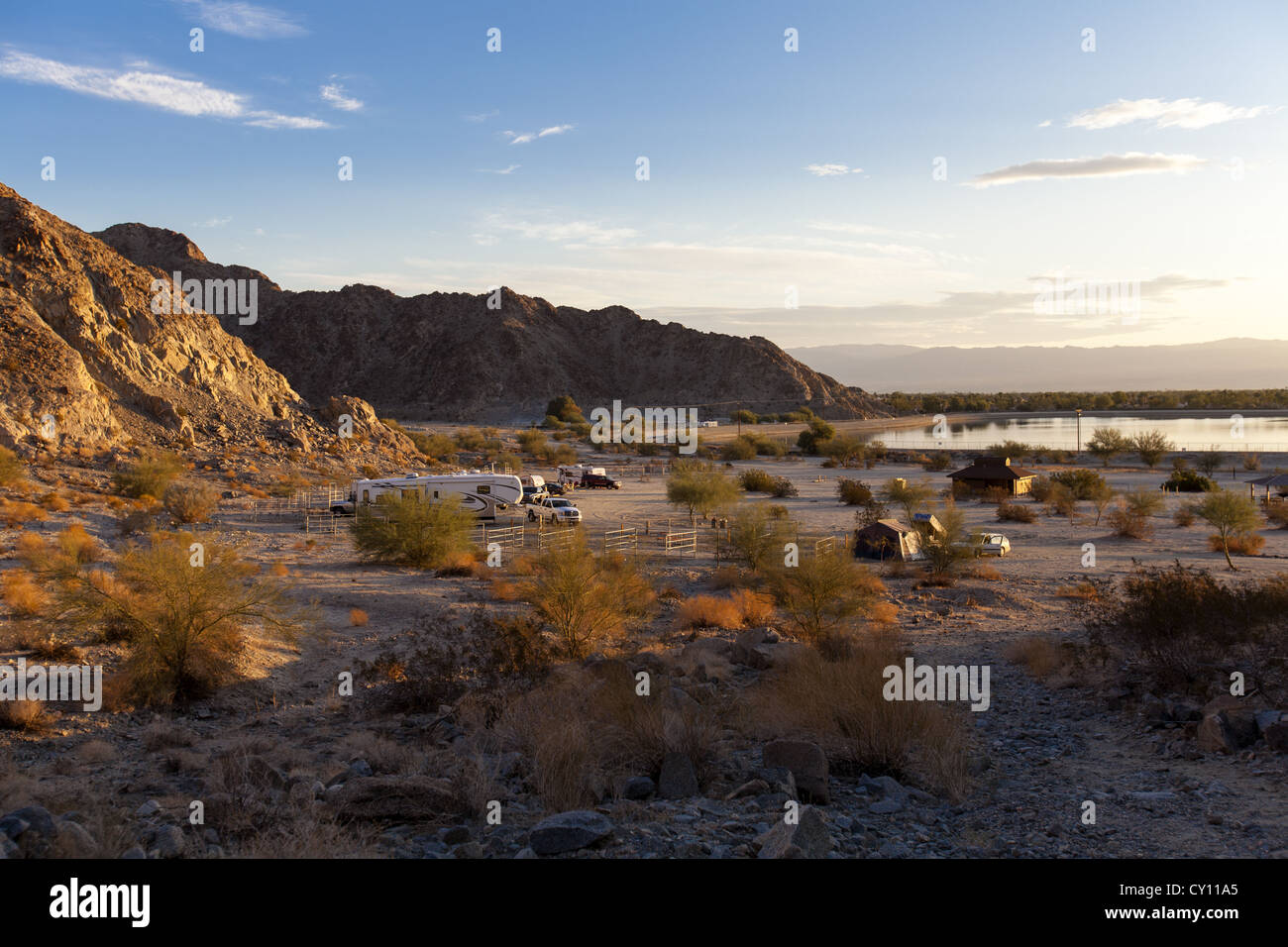 Camp Site Rv Stock Photos Amp Camp Site Rv Stock Images Alamy