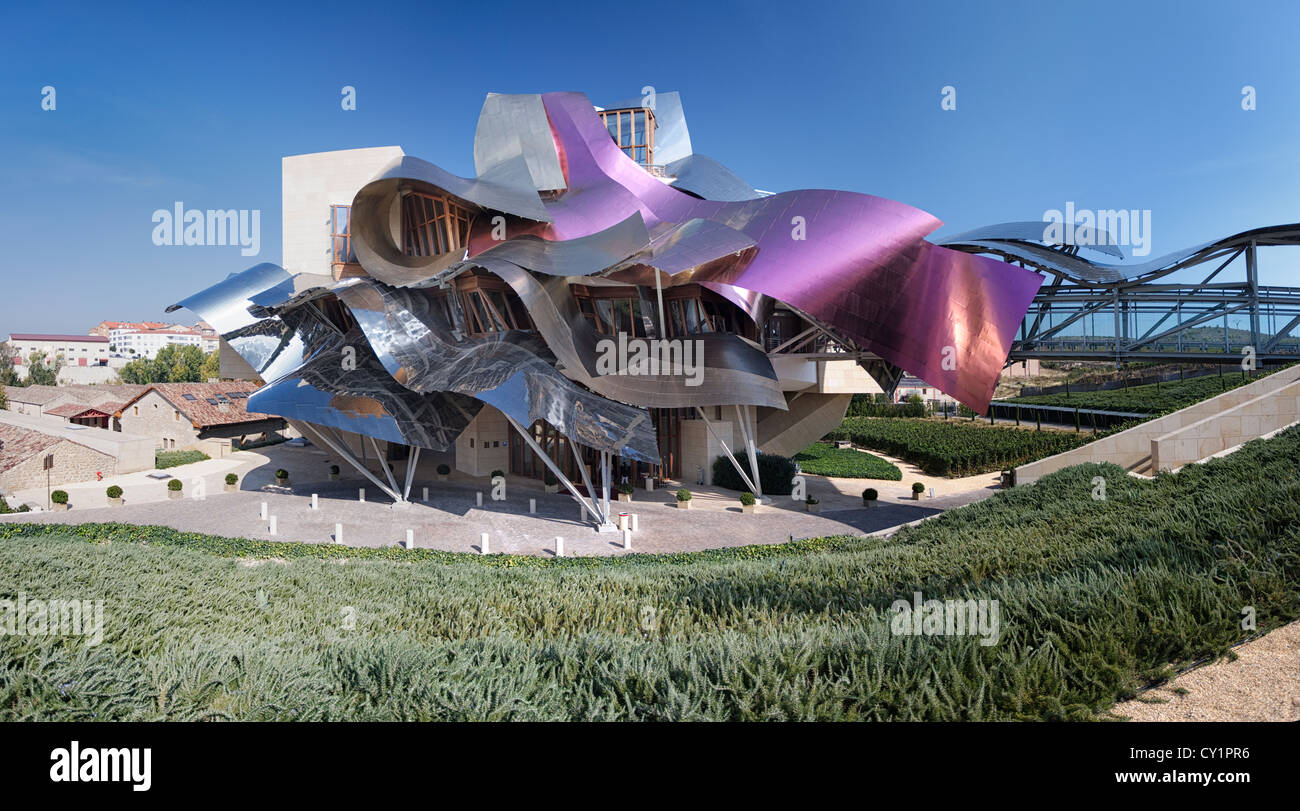 Pano hotel marques de riscal designed by frank gehry for Hotel el ciego marques de riscal
