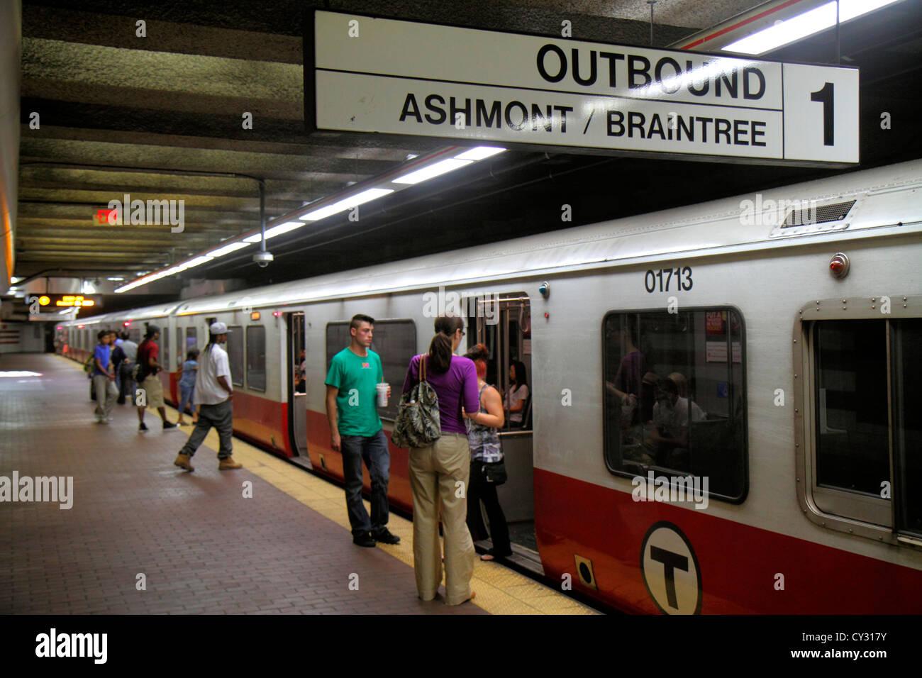 Train Boston Tour
