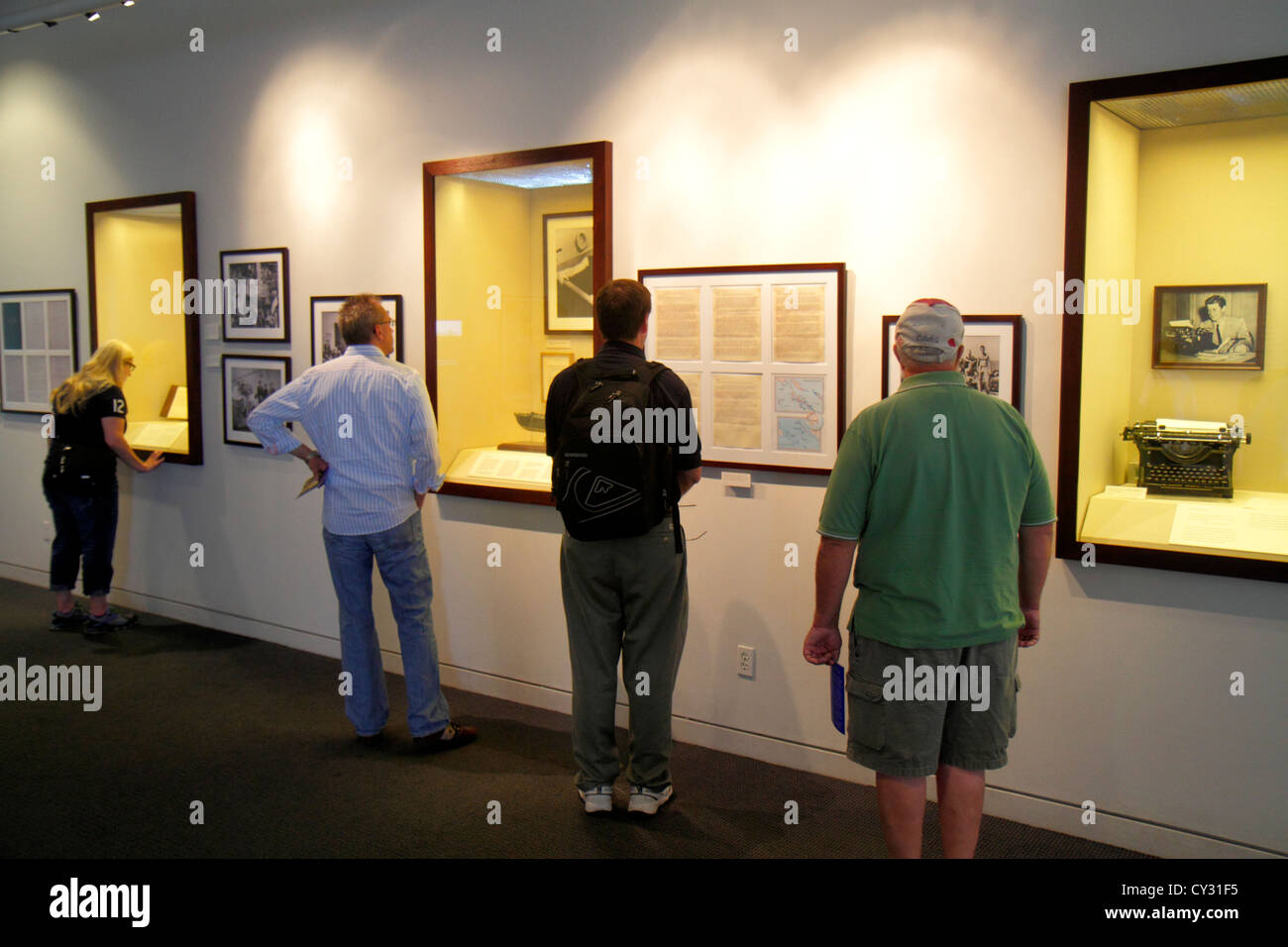 Kennedy Presidential Library Exhibits