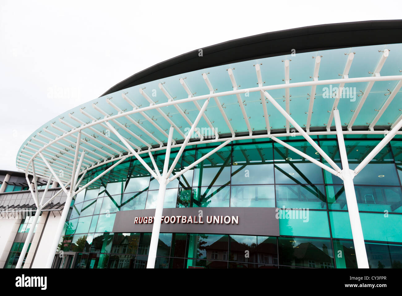 main entrance and canopy to Rughy Football Union Twickenham Stadium & main entrance and canopy to Rughy Football Union Twickenham ...
