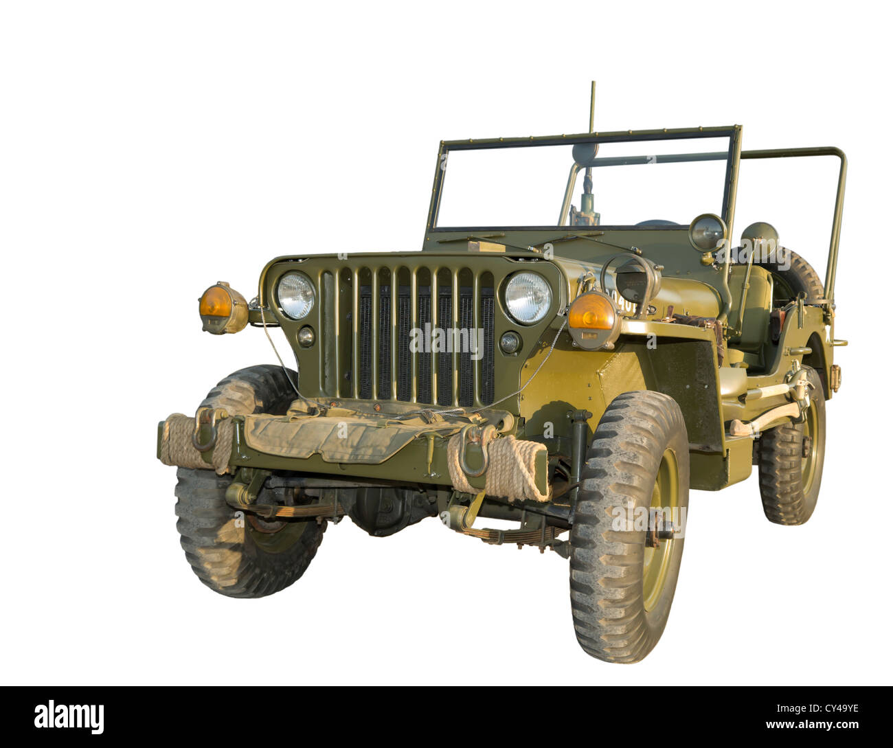 """Military """"jeep"""" ( Model Of The 1940's) Legendary Lend"""