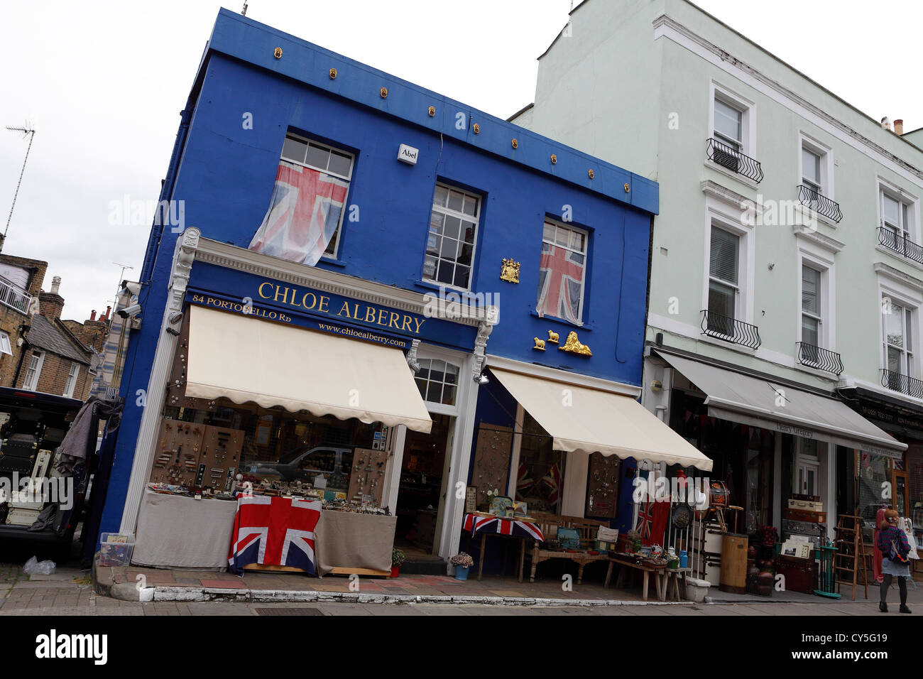 One of (14) images related to Portobello Road market by the Stock ...