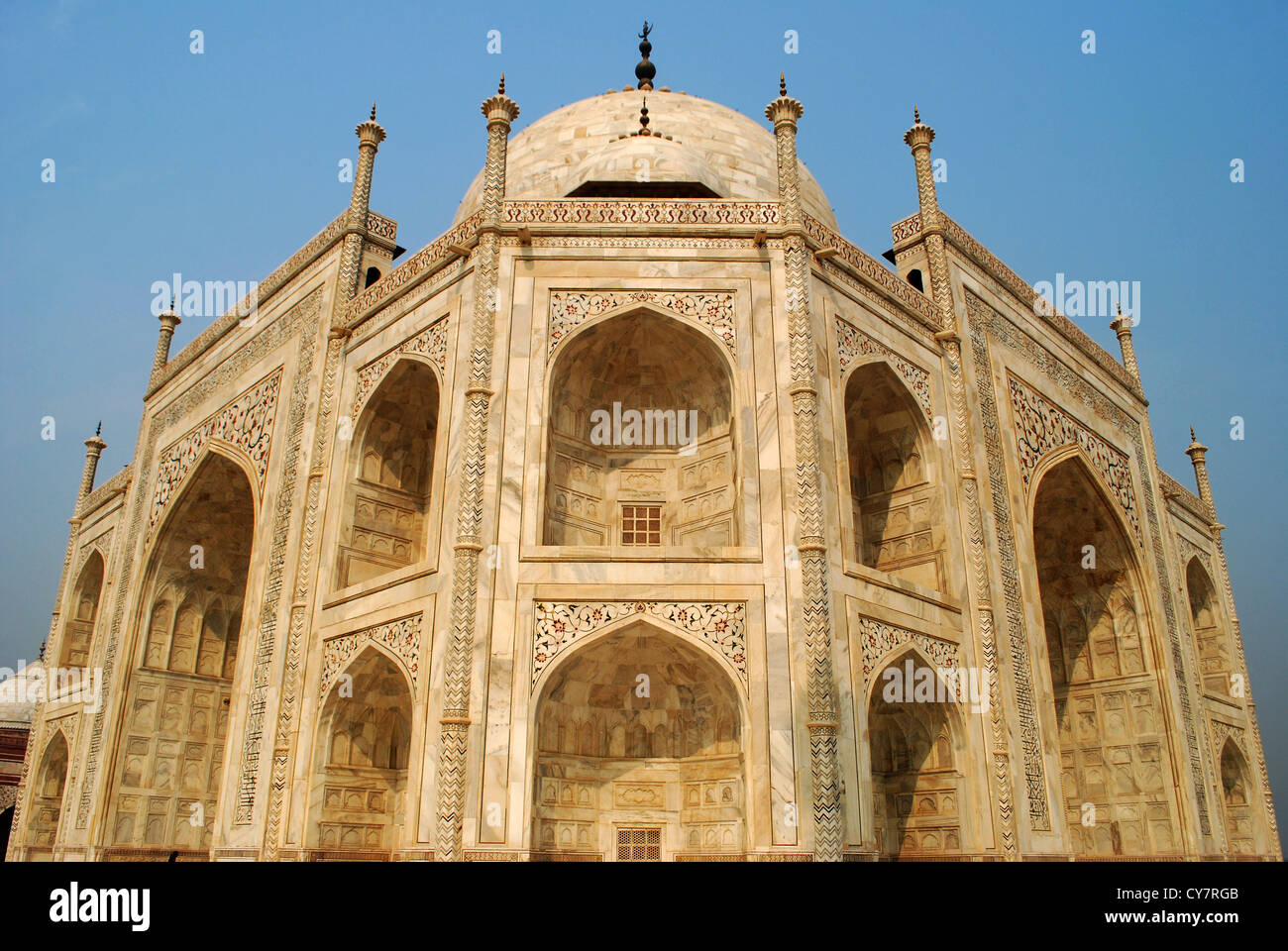 Stock Photo   taj mahal close up  agra india  this marble architecture is  one of the most beautiful buildings of the worldtaj mahal close up  agra india  this marble architecture is one of  . Most Beautiful Architecture In India. Home Design Ideas
