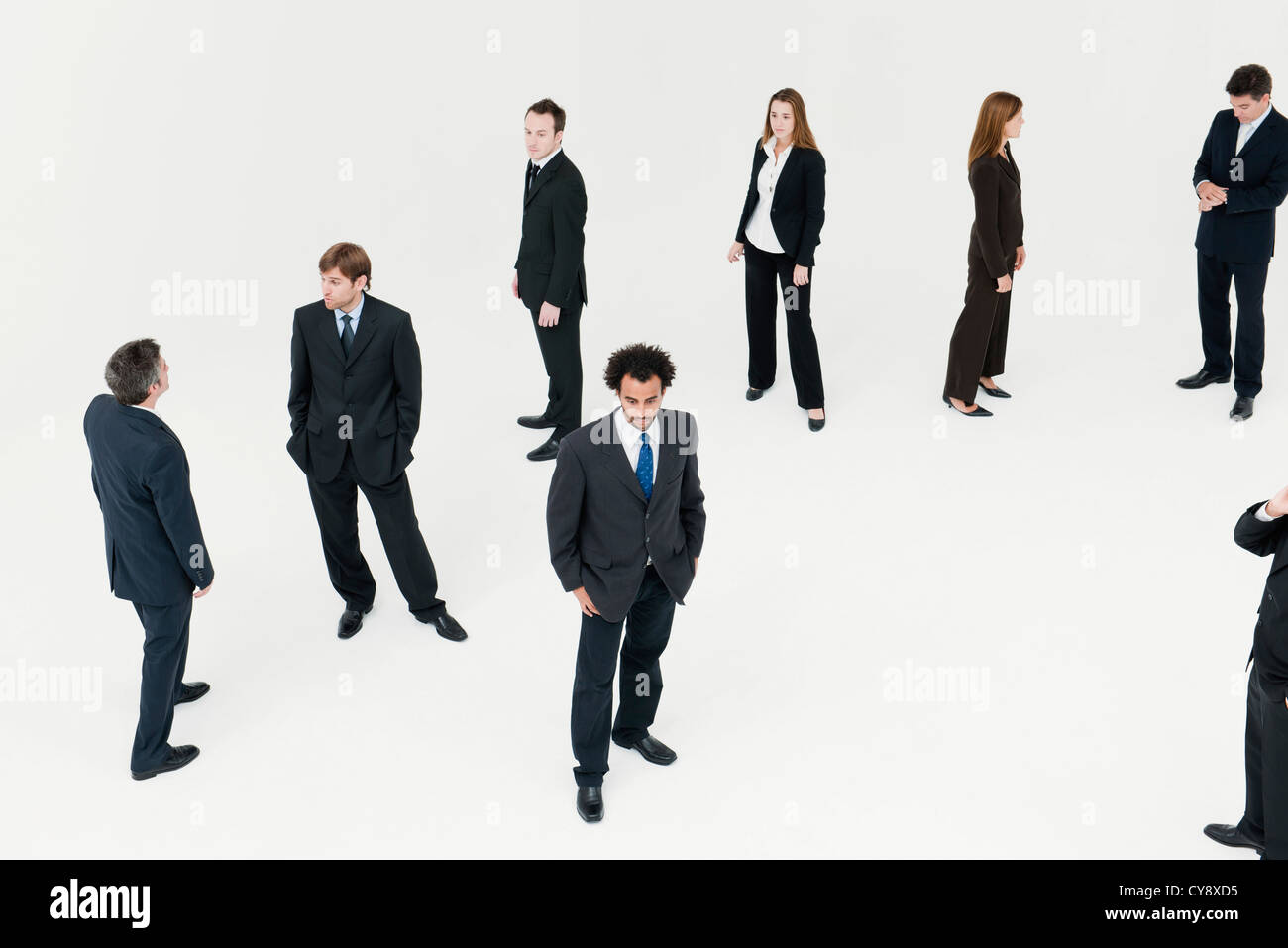 business professionals dressed for success stock photo royalty business professionals dressed for success