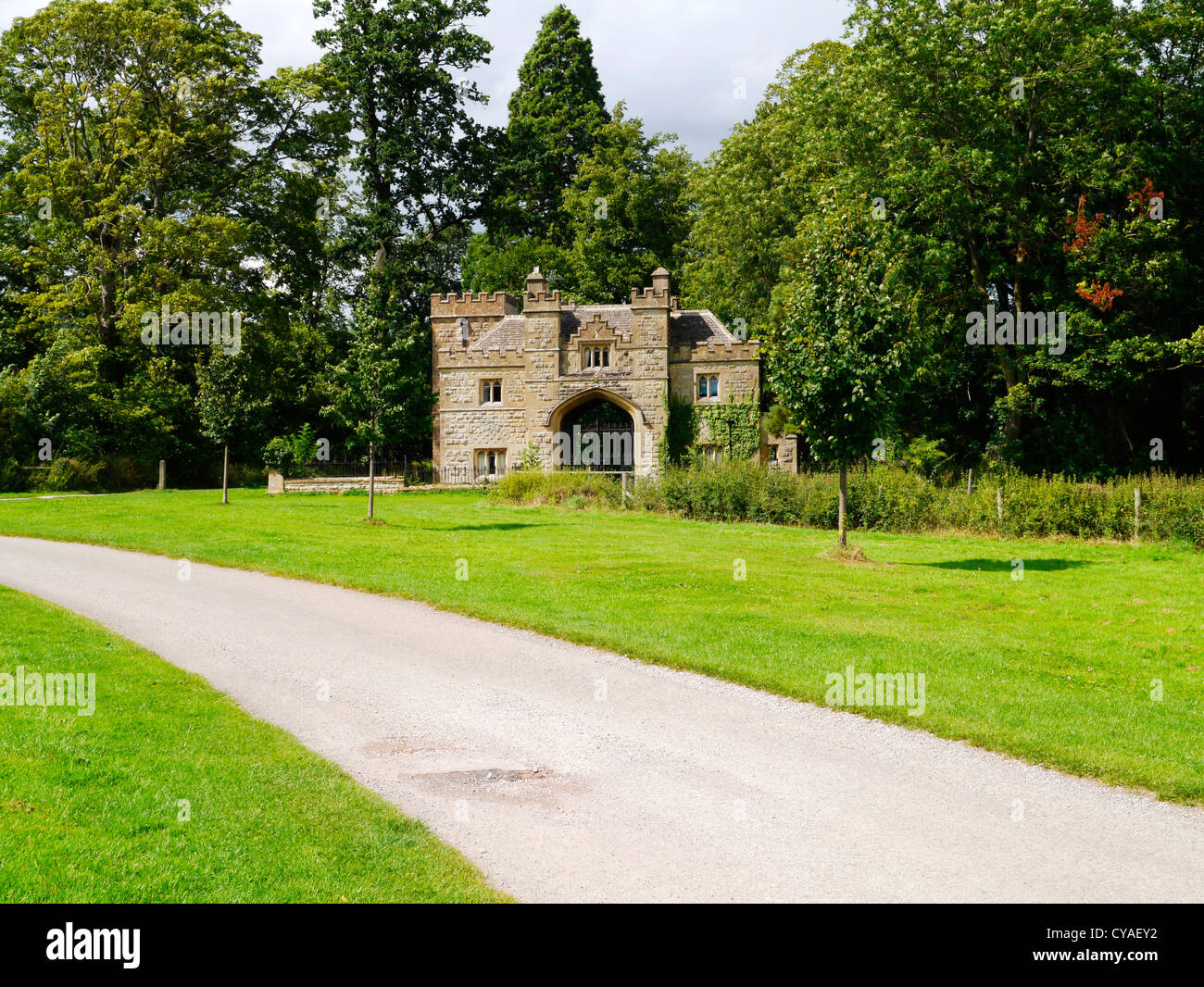 Grounds Of Sudeley Castle Estate Gloucestershire