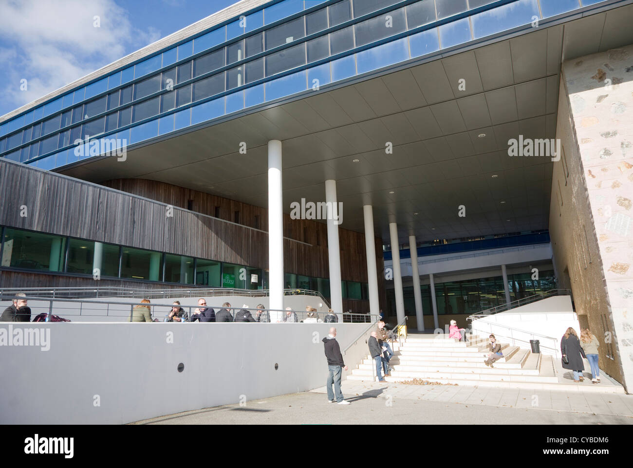 Modern Architecture Buildings modern architecture buildings tremough campus, university college