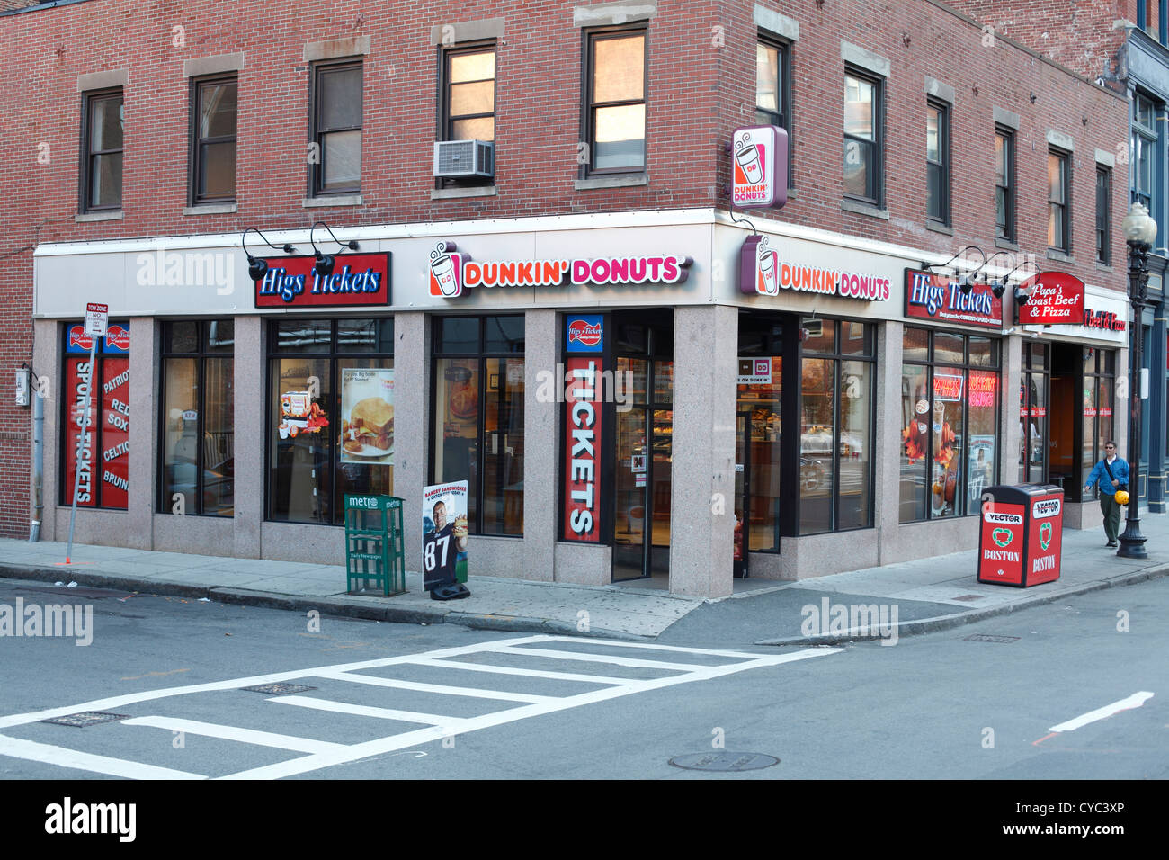 Dunkin Donuts Franchise Fast Food Donut Shop With Higs Tickets On ...