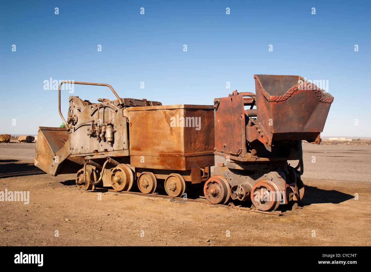 Old mining equipment in Australia Stock Photo, Royalty ...