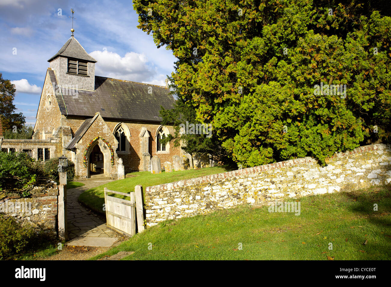 St peters church hambledon surrey england uk gb rural stock st peters church hambledon surrey england uk gb rural england english great britain british countryside village sciox Image collections