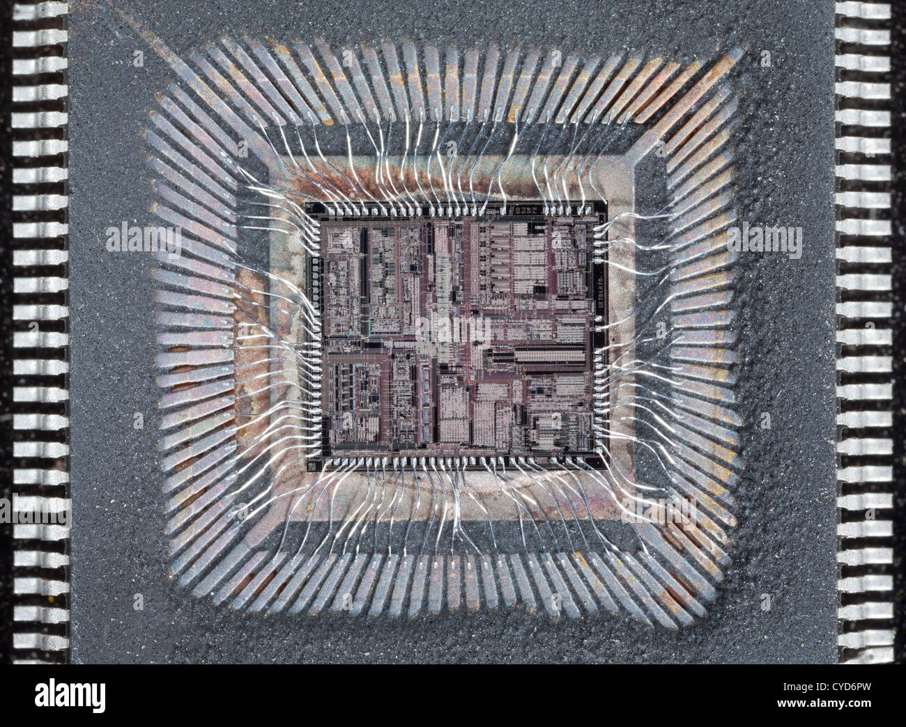 Hard disk drive silicon chip integrated circuits, chips ...