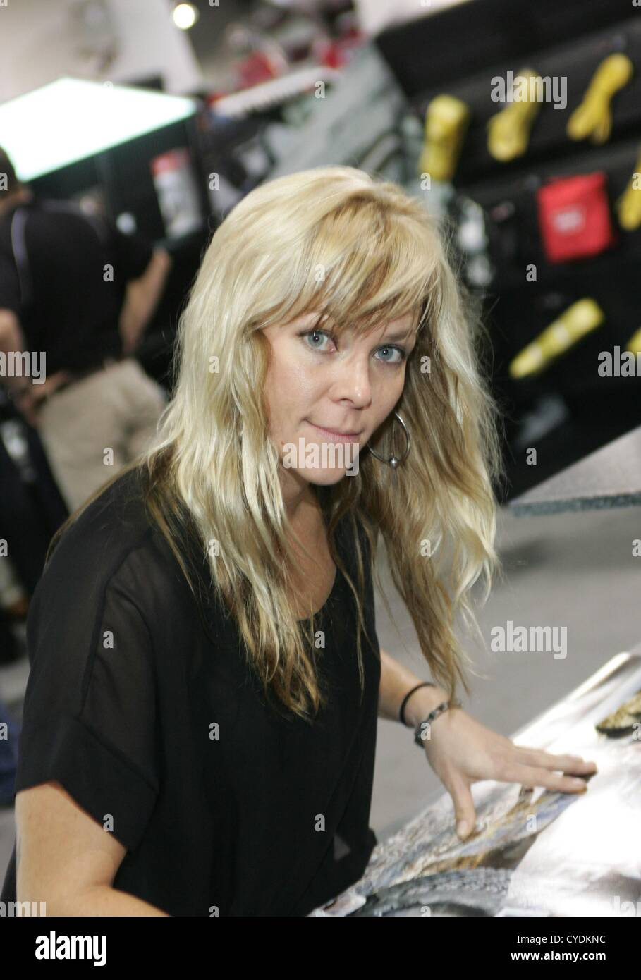 Jessi Combs in attendance for 2012 SEMA Show - THU, Las ...