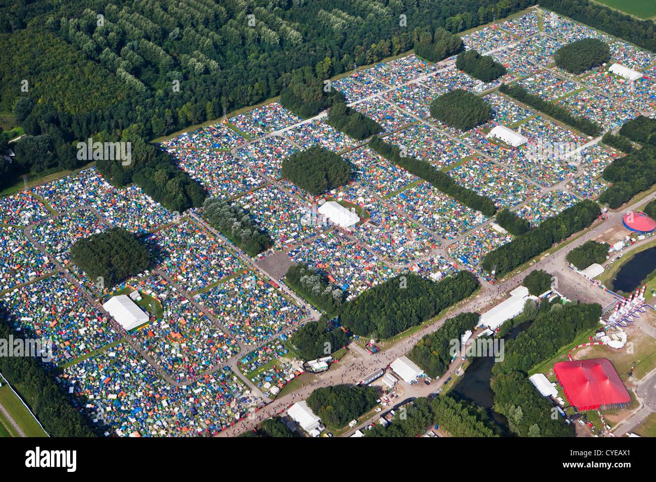 The Netherlands Biddinghuizen Amusement park Walibi Music