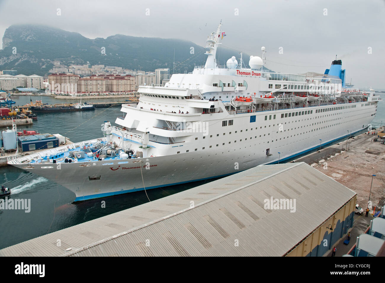 Cruise Ship Thomson Dream Alongside The Cruise Terminal At A - Pictures of thomson dream cruise ship