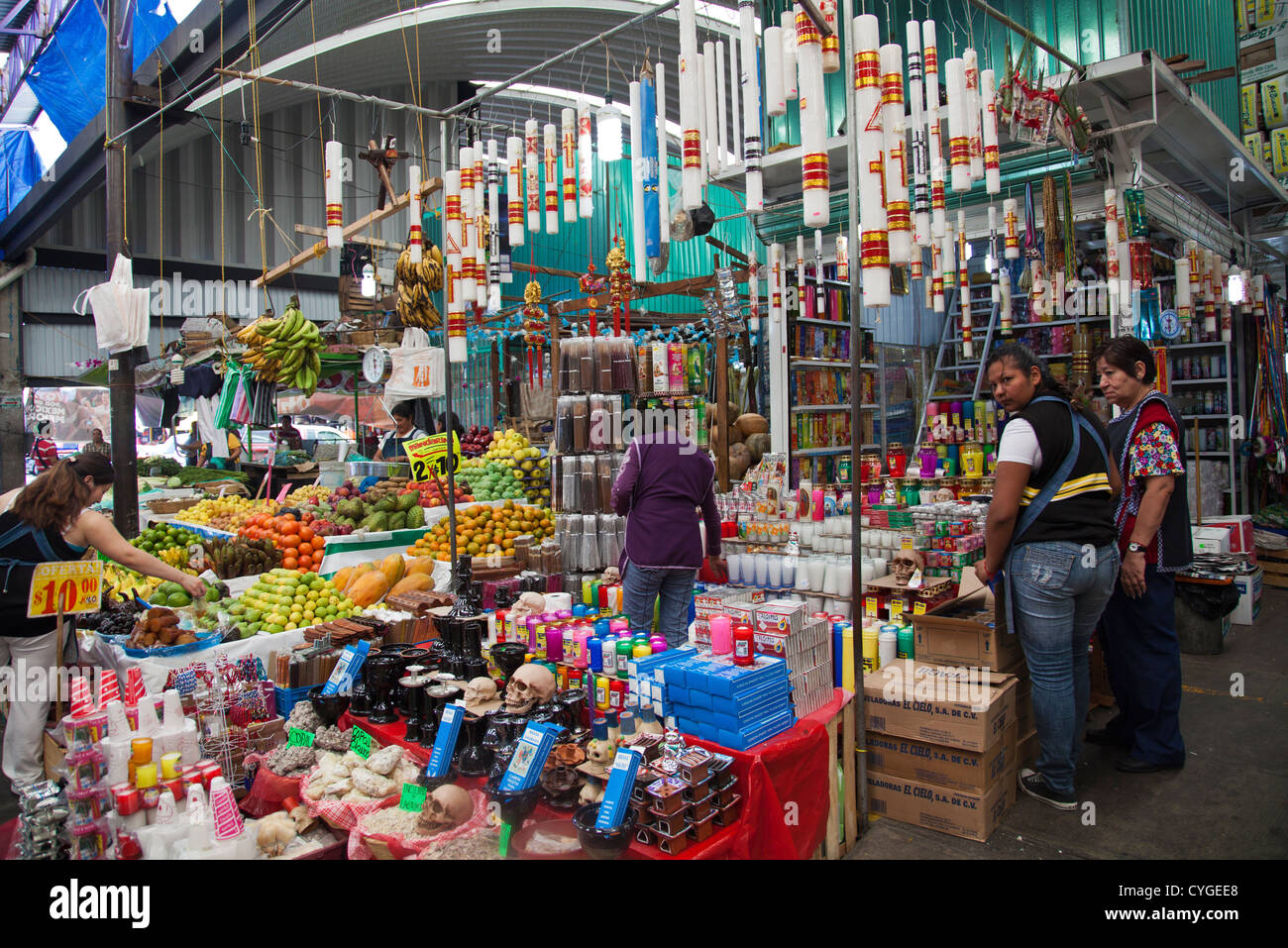 Candle, Incense and mixed stall selling goods for at ...