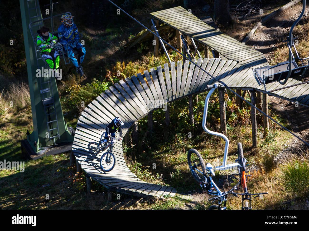 Bike Park Winterberg A Mountain Bike Area In Summer Ski Sloops