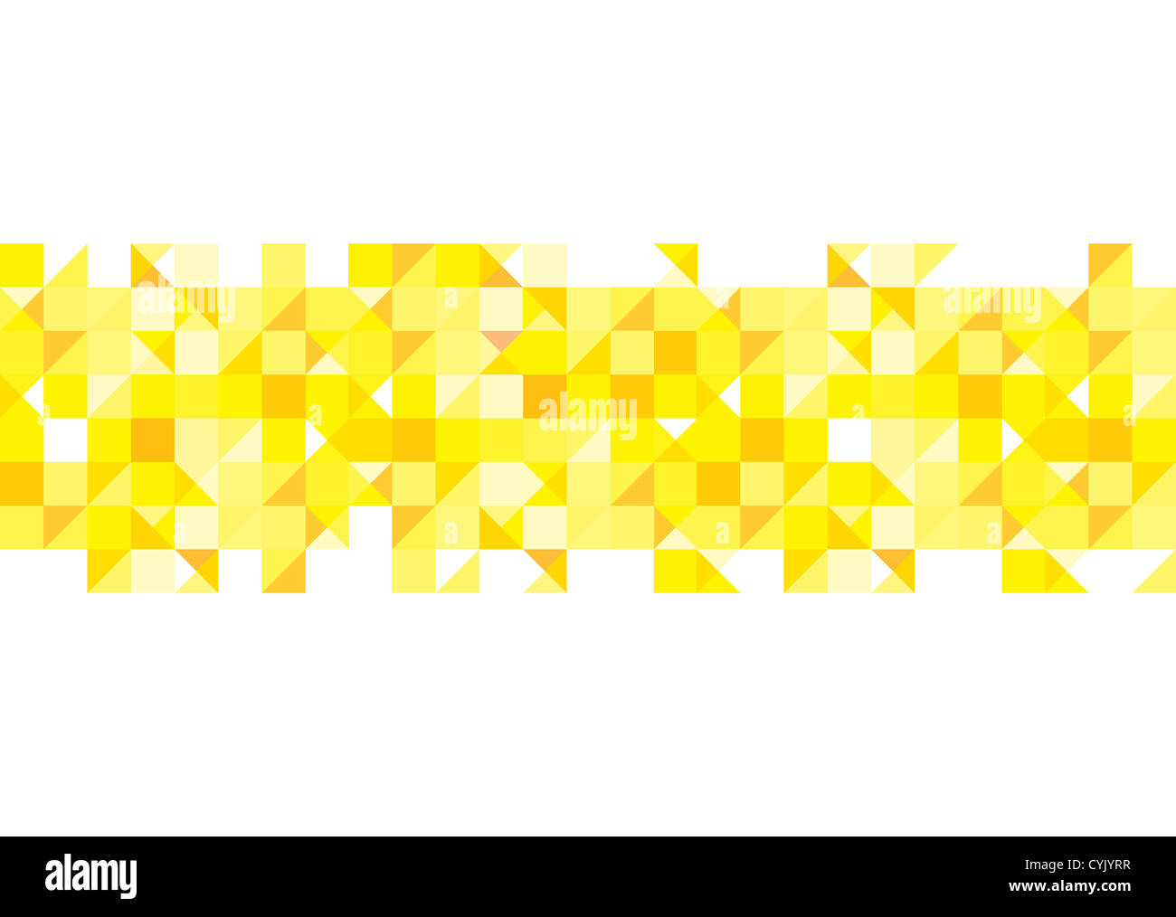 Yellow Shades abstract yellow square with shades of gold for presentation stock