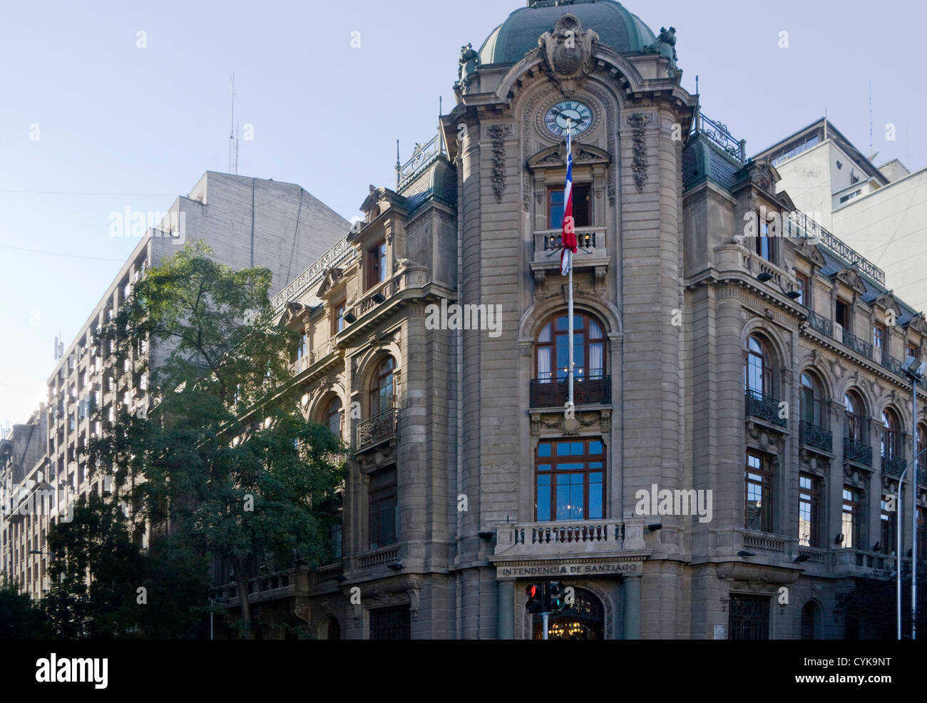 Santiago chile south america colonial architecture of for American colonial architecture
