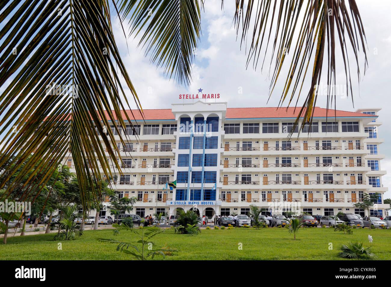 Bagamoyo Tanzania  city images : Stella Maris Hostel In Bagamoyo, Tanzania Stock Photo, Royalty Free ...