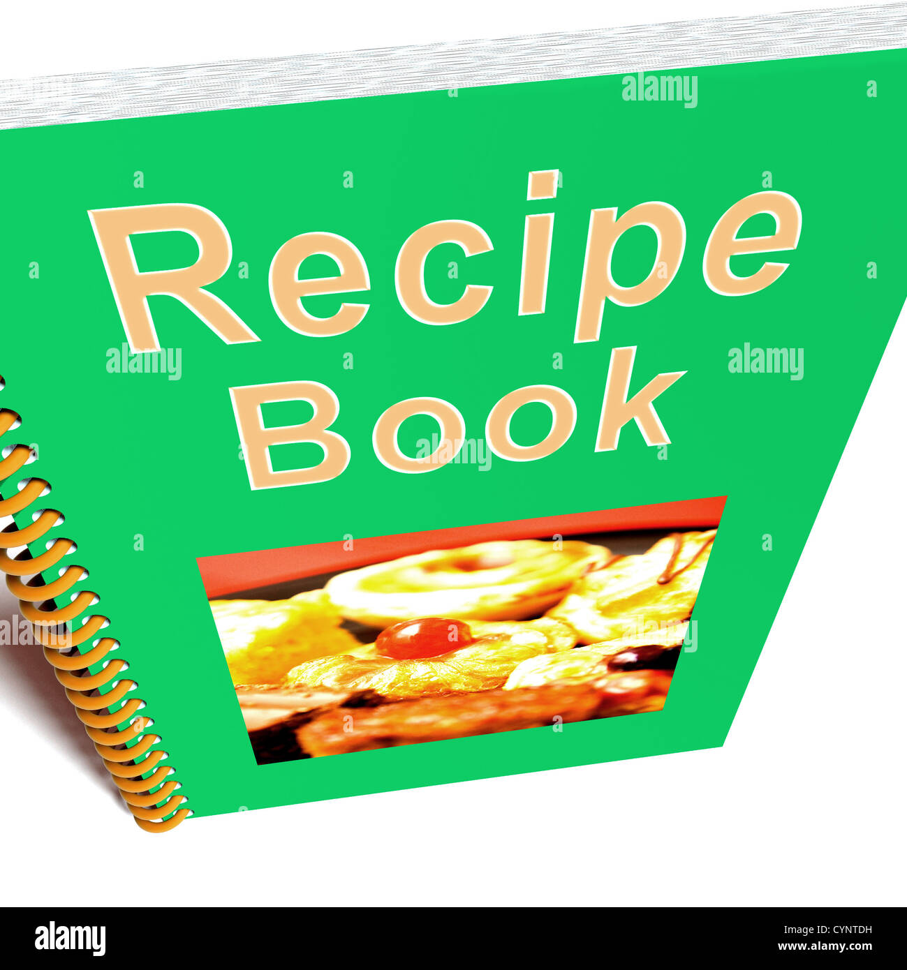 Recipe book for cooking or preparing food stock photo royalty free recipe book for cooking or preparing food forumfinder Choice Image