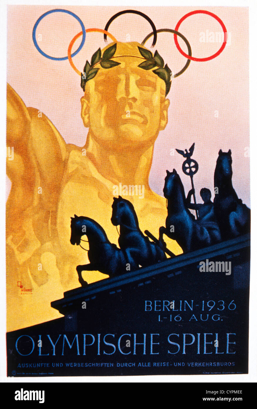 An analysis of the berlin in 1936 and the olympic games