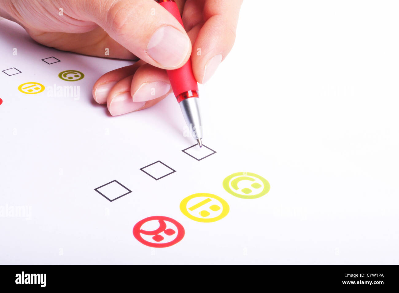 Customer Satisfaction Questionnaire Showing Marketing Or Business Customer Satisfaction Questionnaire Showing Marketing Or Business CYWPA Stock Photo Customer Satisfaction Questionnaire Showing Marketing Or Business