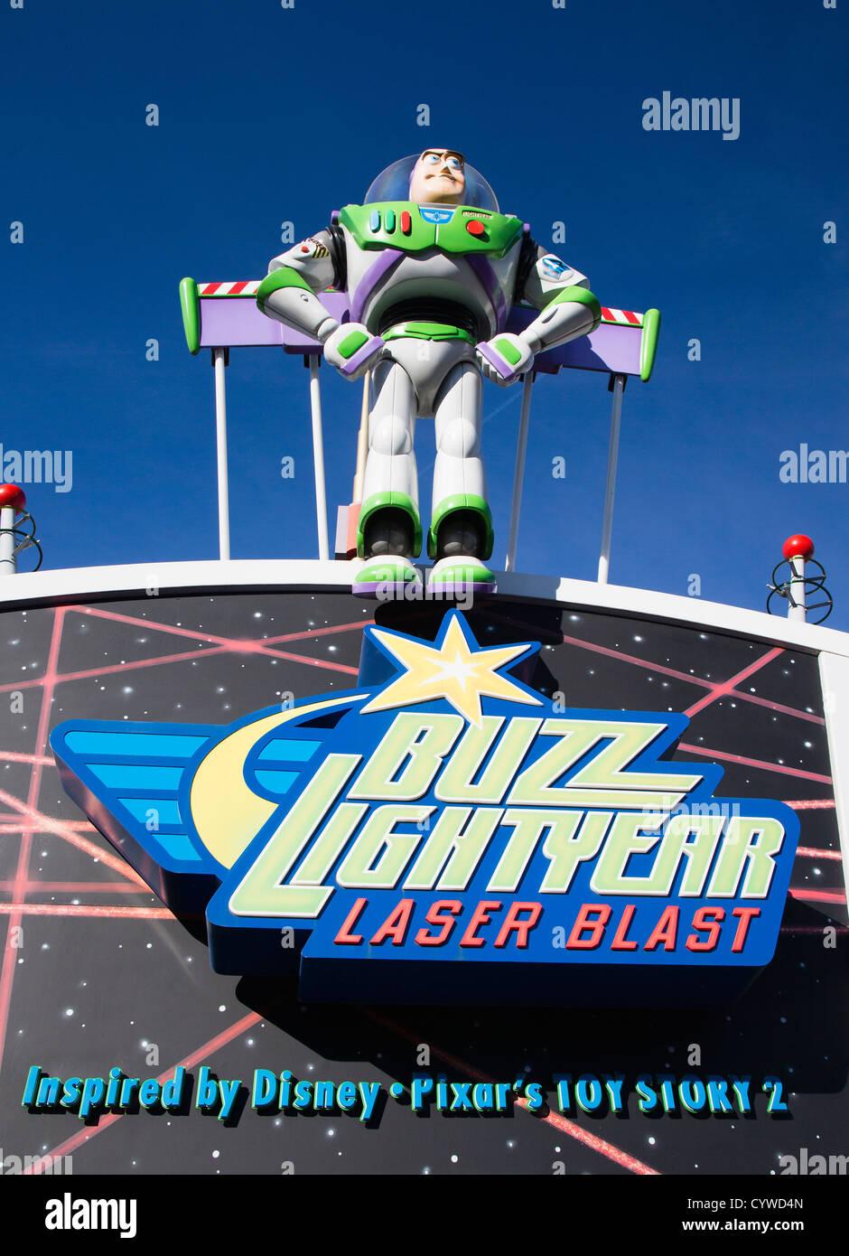 Buzz Lightyear Laser Blast Ride At Disneyland Paris Euro
