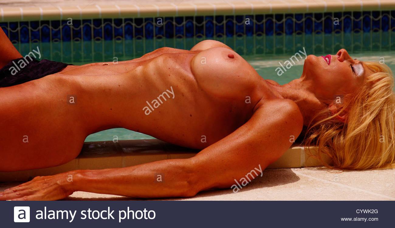 nude pool models