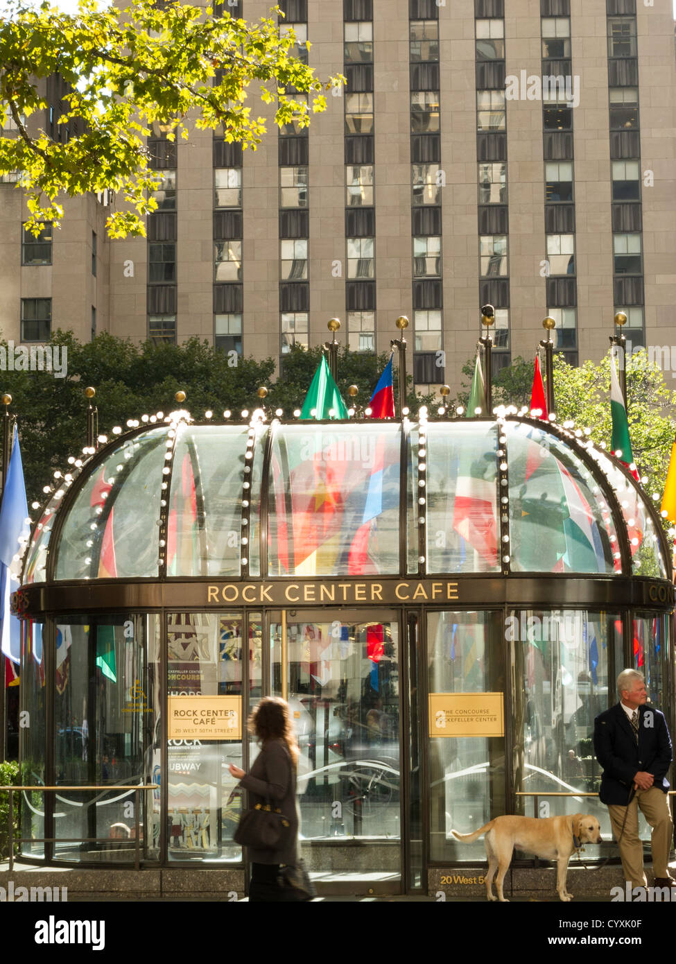 The Rock Center Cafe Nyc