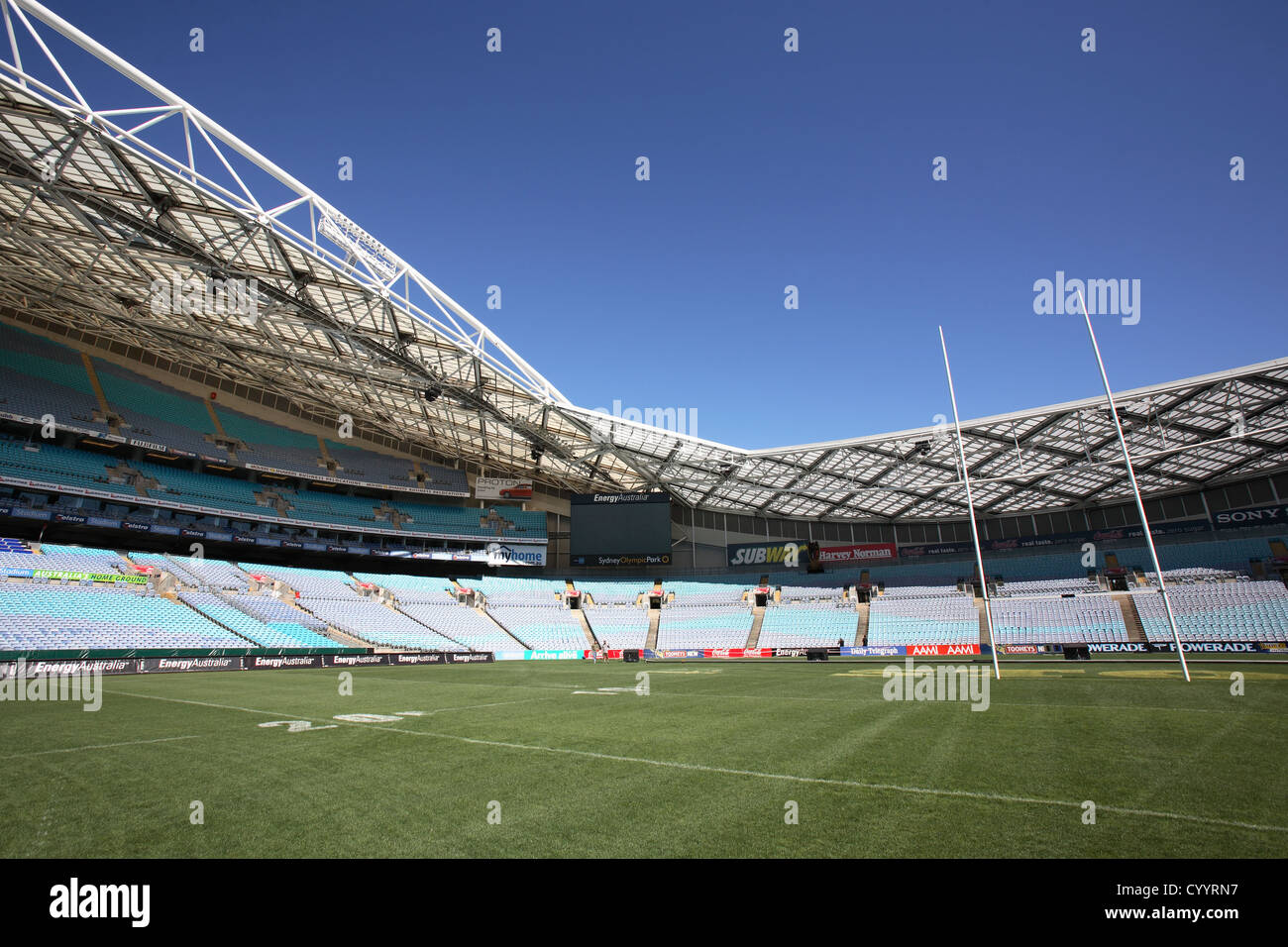 Stadium Australia At Sydney Olympic Park Homebush Bay