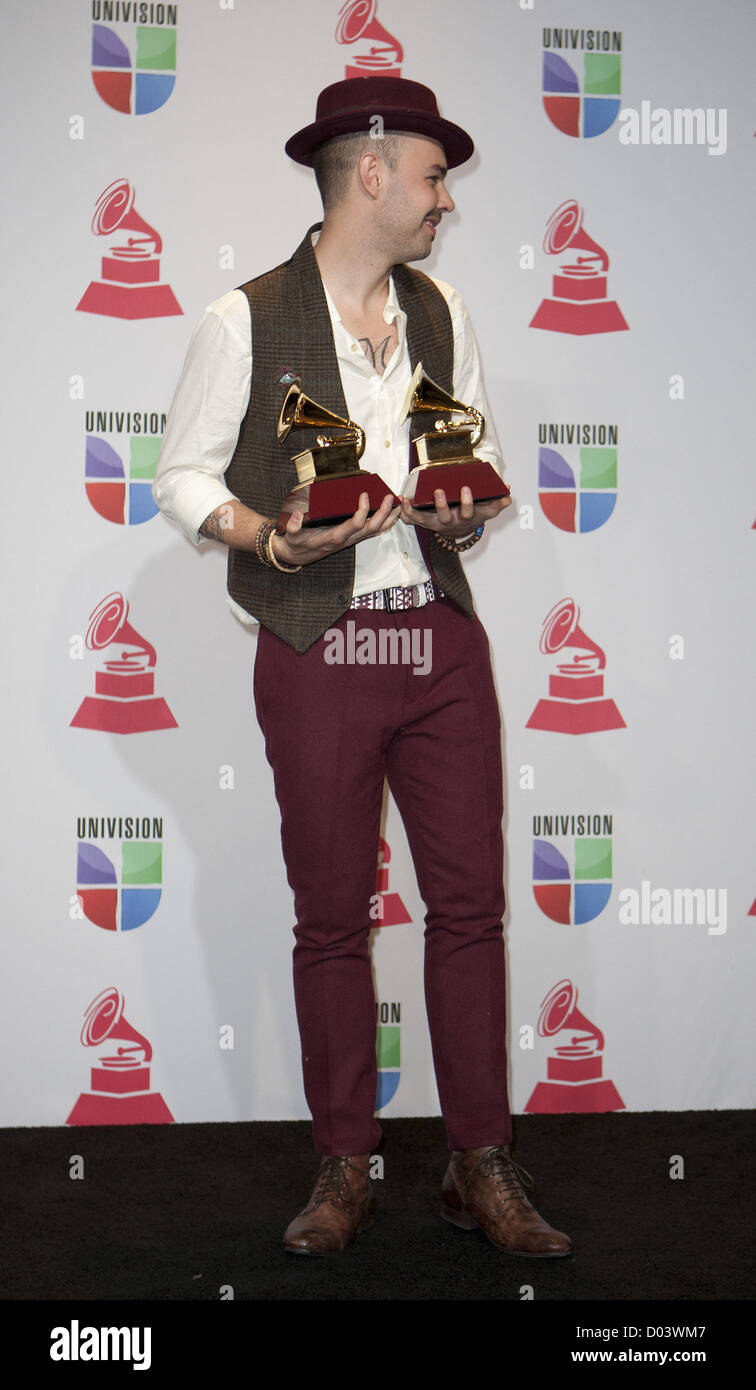 Nov. 15, 2012 - Las Vegas, Nevada, USA - Jesse Huerta of Jesse y ...