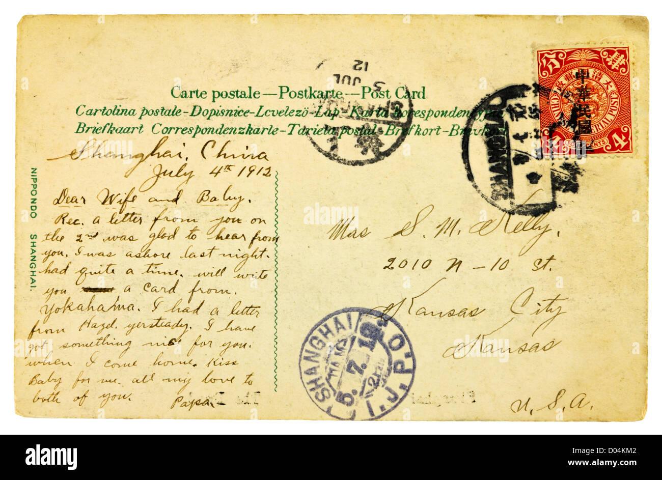 vintage letters postcards photographs - photo #20