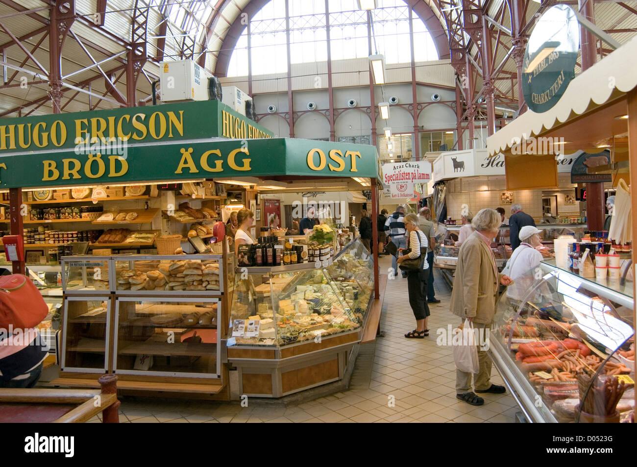 Saluhallen in Gothenburg - The indoor market place in ...