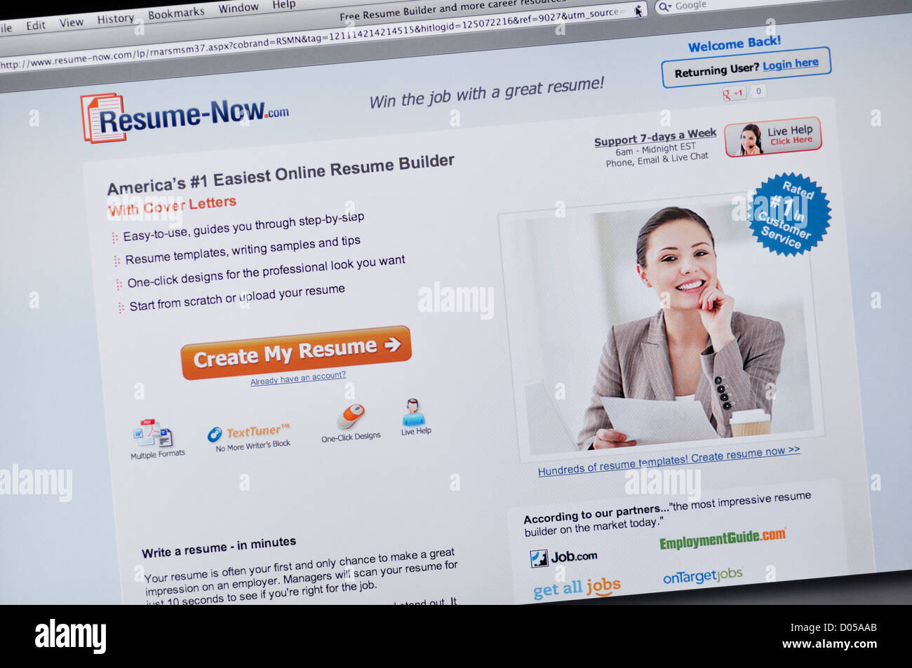Resume Now Website   Online Resume Builder  Resume Now Builder