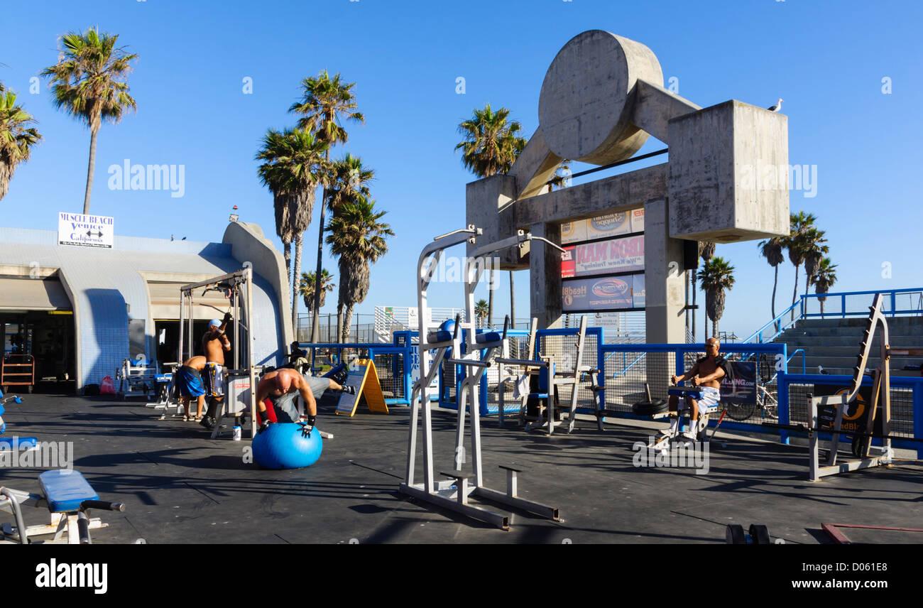 Public Storage Venice Ca Muscle Beach Venice Beach Los Stock Photos U0026  Muscle Beach Venice