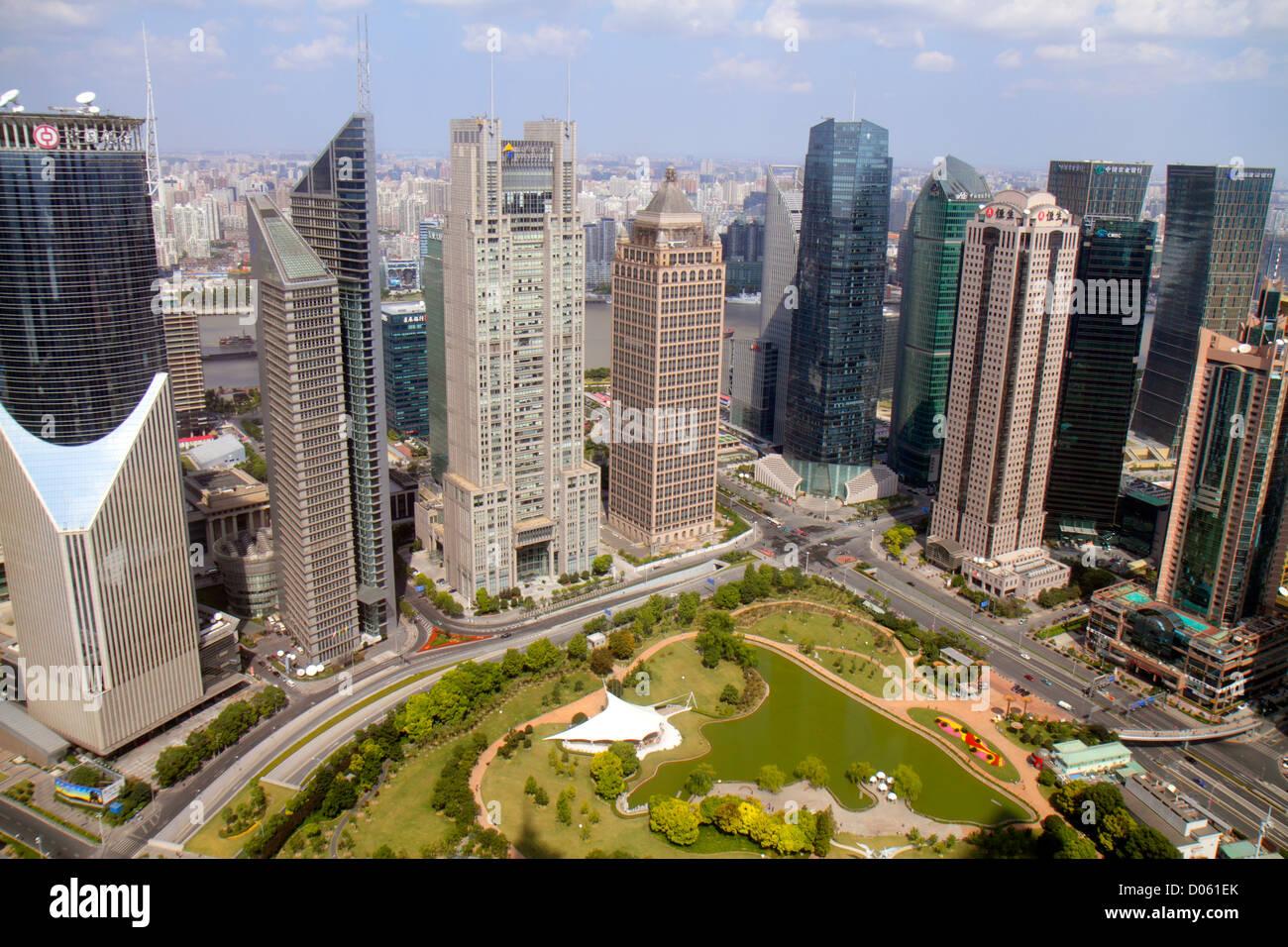 Shanghai Lujiazui: Finance and Trade Zone