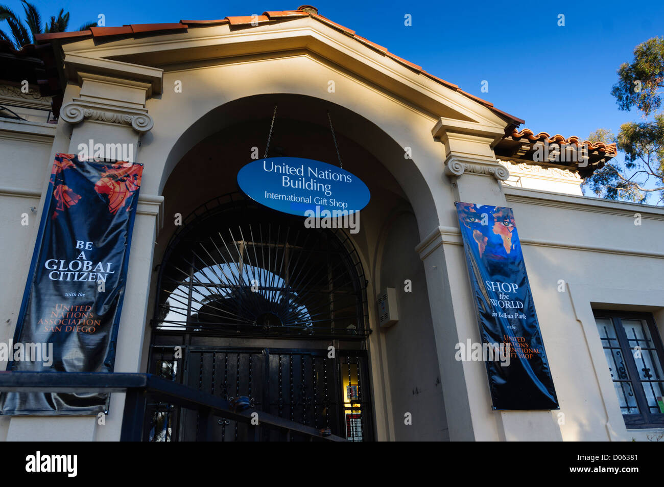 Balboa Park, San Diego, California - United Nations gift shop ...