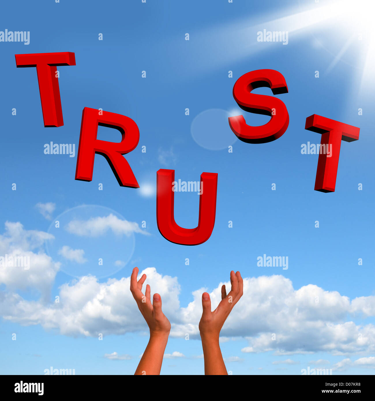 Catching letters spelling trust as symbol for faith and beliefs catching letters spelling trust as symbol for faith and beliefs biocorpaavc Choice Image