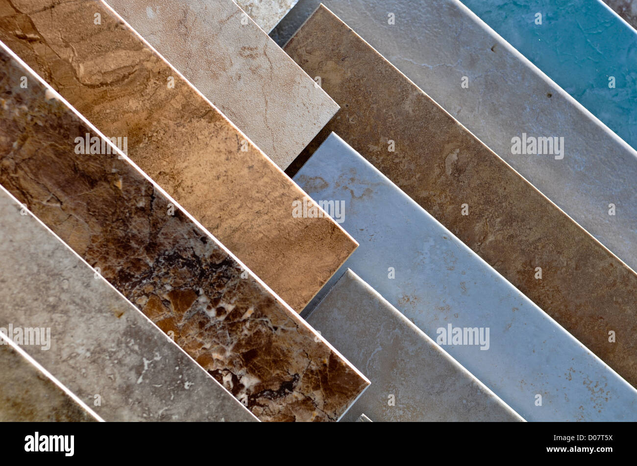 Ceramic Tile Samples Store Stock Photo Royalty Free Image