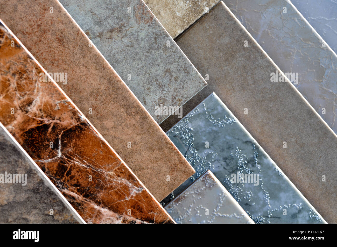 Ceramic tile display samples store stock photo royalty free image ceramic tile display samples store dailygadgetfo Image collections