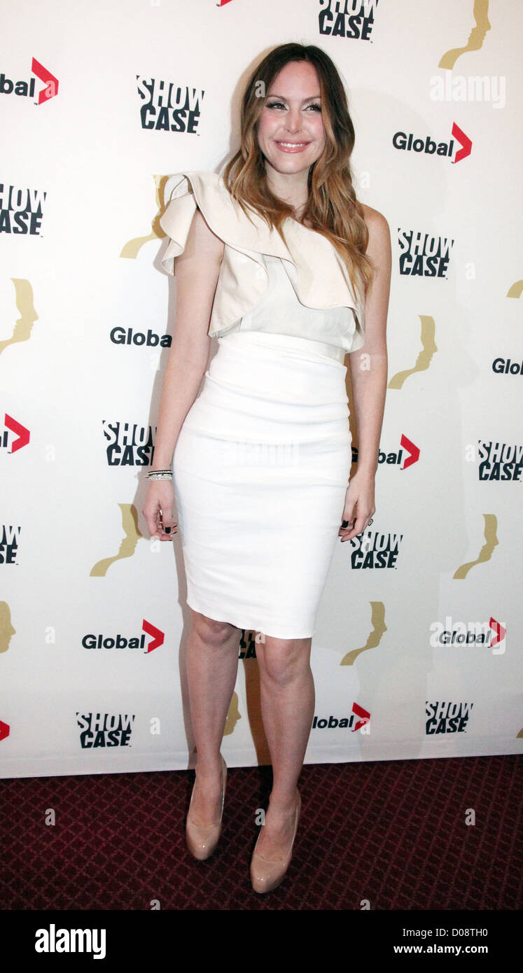 leah miller the 25th gemini awards at the winter garden theatre