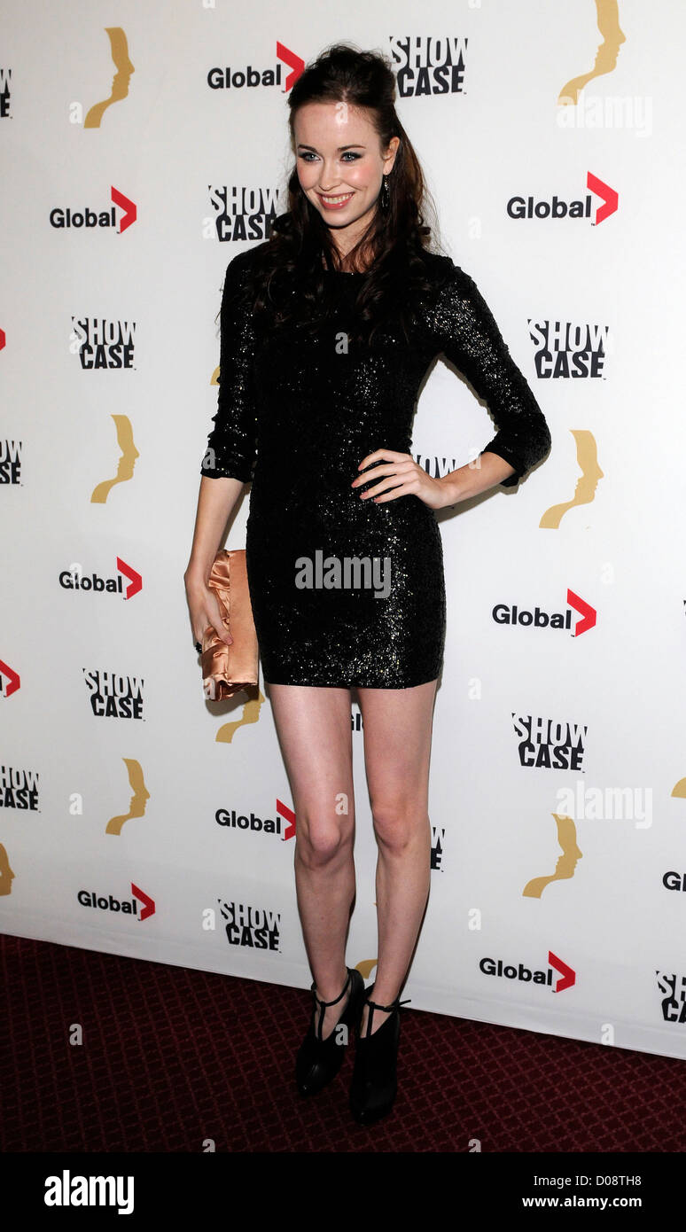 elyse levesque the 25th gemini awards at the winter garden theatre