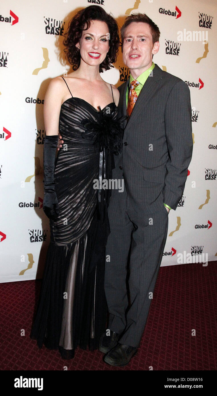 geri hall and gavin crawford the 25th gemini awards at the winter