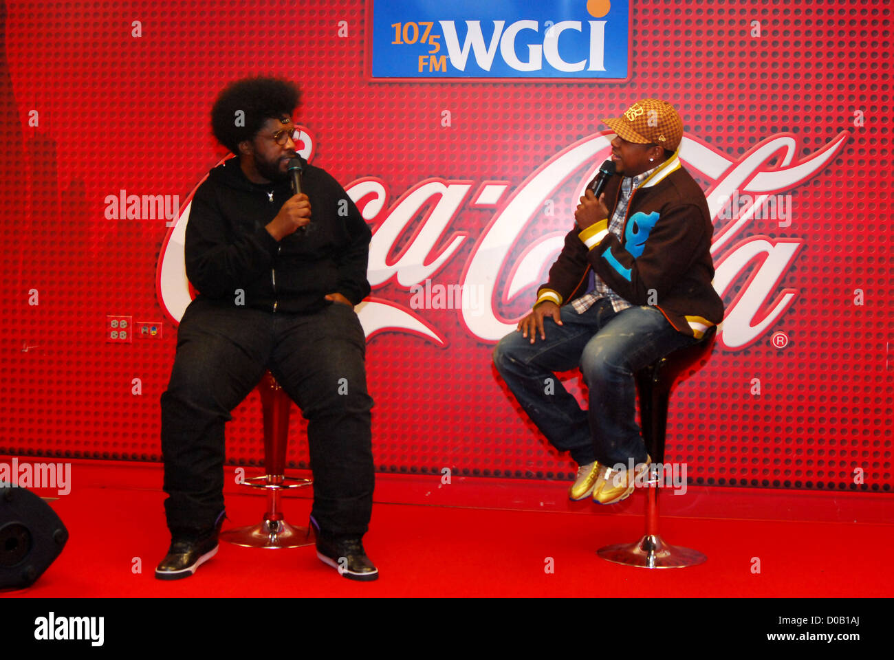 the roots drummer questlove uestlove stops by wgci coca cola stock photo the roots drummer questlove uestlove stops by wgci coca cola lounge for an interview on air personality and comedian