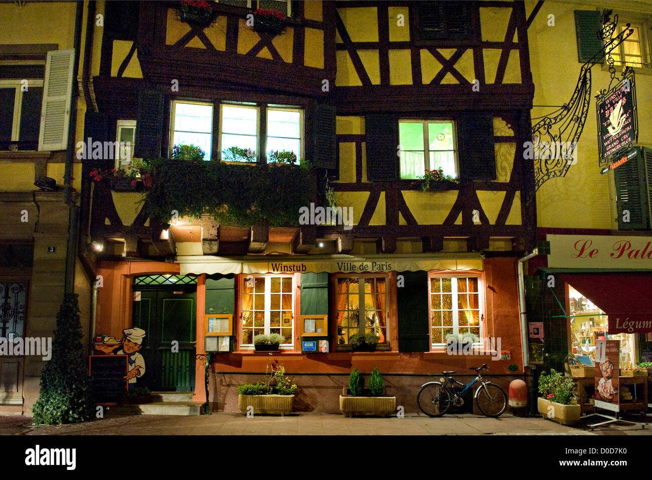 france alsace colmar ville de paris restaurant stock photo royalty free image 51922500 alamy. Black Bedroom Furniture Sets. Home Design Ideas