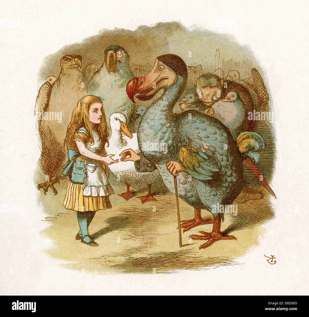 """a personal account of similarities with lewis carrolls character alice """"must be cold and drafty,"""" suggested lucie without missing a bite  then she offered him the open paperbag """"here, ha."""